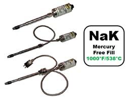 NaK Mercury Free Melt Pressure Transducers and Transmitters