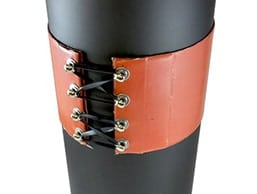Silicone Drum Heater Installed on Drum